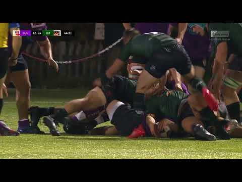 Durham v Exeter BUCS Super Rugby Highlights 13/10/17