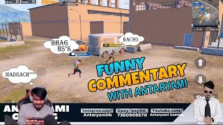 First Time PUBG Commentary || Antaryami Gaming ||