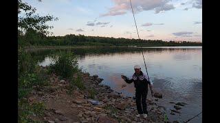 Первый в жизни подлещик Рыбалка на озере Чебаркуль