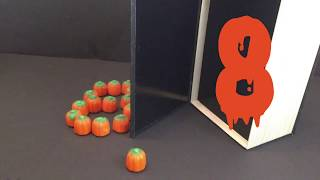 Halloween Candy Stop Motion 2019| Learn to count with Candy