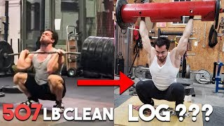Clarence Quitting Weightlifting for Strongman?