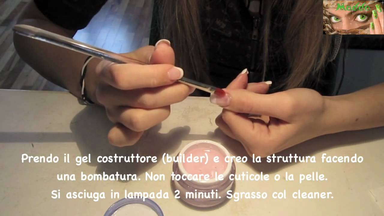 gel su unghie naturali passaggi