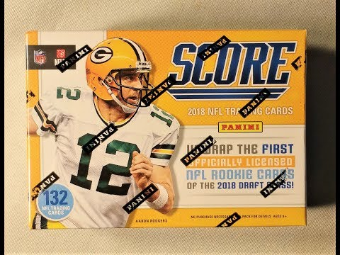 2018 Panini Score NFL Football Trading Cards. Steelers Rookie Jersey Relic Hit