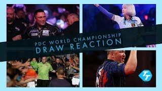REACTION | PDC 2020 World Darts Championship Draw | Barney's farewell and Duzza's debut!
