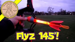 Air Storm Firetek Light-Up Power Bow & Arrows - I Hunt Squirrels!!