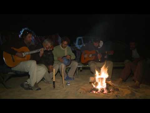 Shane O's JAM SESSION in the White Desert of Egypt SAHARA (ep 11)
