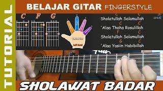 Gambar cover SHOLAWAT BADAR - Belajar GITAR  Fingerstyle