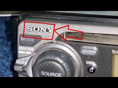 SONY CDX-4250RV, CAR RADIO, repair. not read cd. problem. cleaning. laser