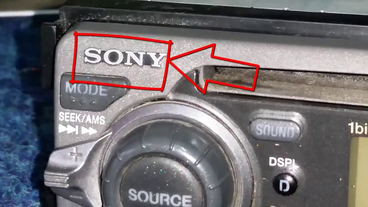 Sony Cdx 4250rv Car Radio Repair Not Read Cd Problem Cleaning Wiring Harness Gt300 Laser