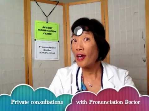Private clients - Contact the Pronunciation Doctor for a free consultation