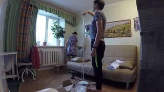 Сборка дивана БЕДИНГЕ ЛЁВОС (IKEA)