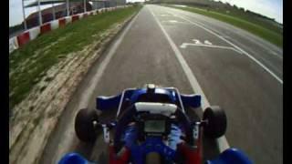 KF3 Kart @ Campillos with GoPro Helmet Video Camera - RACE DATA