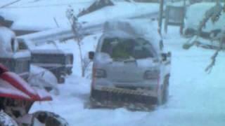 Repeat youtube video 12/31 NOLA、記録的大雪で除雪車初出動!!