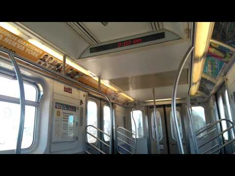 """Onboard R142A """"(5)"""" / (4) Train from East 180th Street to West Farms Square - East Tremont Avenue"""