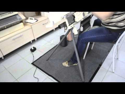 Cмотреть видео онлайн Подставка для вязальной машины