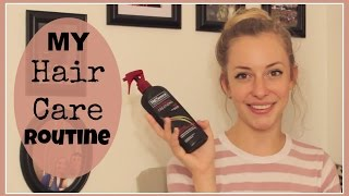 My Hair Care Routine Thumbnail