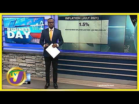 Inflation in Jamaica up by 1.5%   TVJ Business Day - August 16 2021