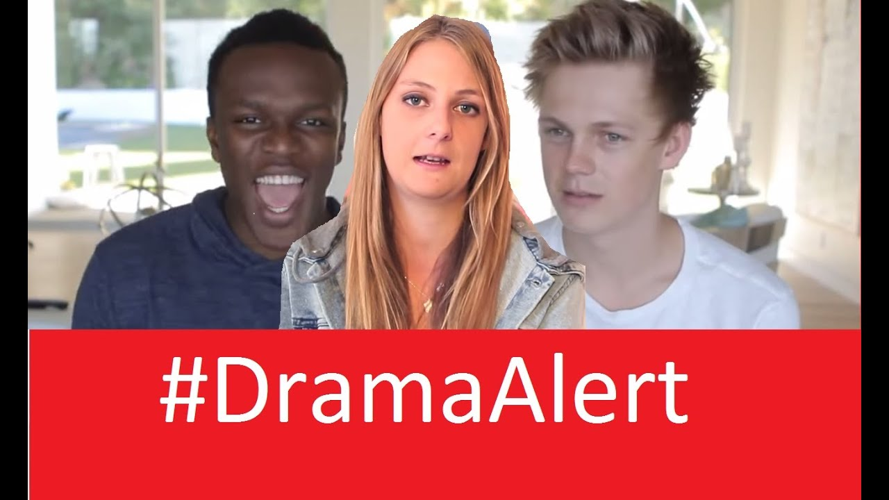 ksi vs caspar lee 's sister & tomska #dramaalert - youtube