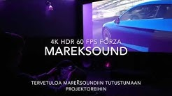 Mareksound kotiteatteri 60 FPS 4K HDR