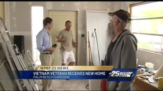 Charity gives Vietnam veteran a new home
