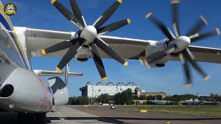 World's LARGEST TURBOPROP An-22 starts huge contra-rotating engines, just MASSIVE PLANES! [AirClips]