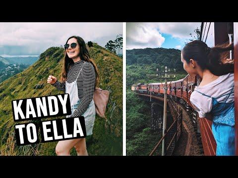 Kandy to Ella Train | Sri Lanka