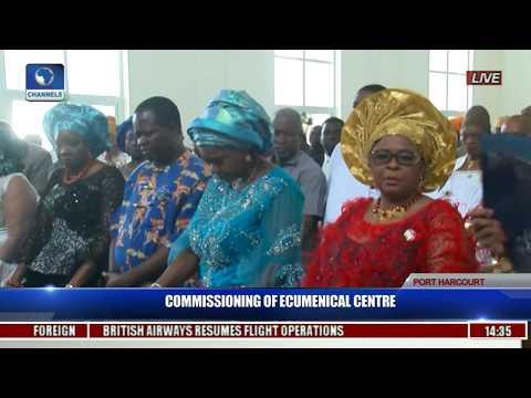 Commissioning Of Ecumenical Center Pt. 8