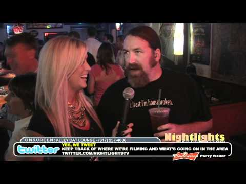Nightlights TV Show @ Alley Cat Lounge (Broad Ripple - Indianapolis)