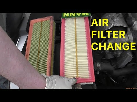 How to Change the Air Filter on your 2007 Citroën C4 1.6 HDi