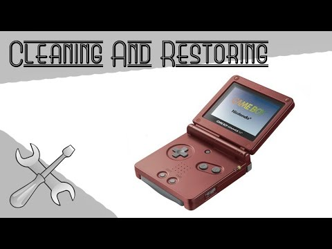 Cleaning & Restoring: SP GameBoy Advanced