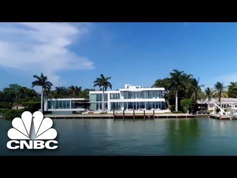 Rihanna Filmed A Music Video At This Miami Estate  | Secret Lives Of The Super Rich | CNBC Prime