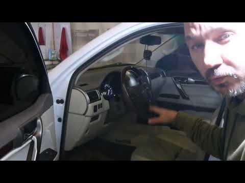 видео: gx 460 Автоматическая тонировка