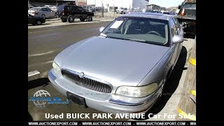 Used BUICK PARK AVENUE For Sale in USA, Worldwide Shipping