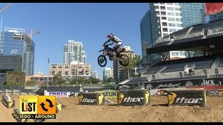SAN DIEGO: Supercross Takes Over Petco Park