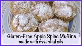 Gluten-free Apple Spice Muffins