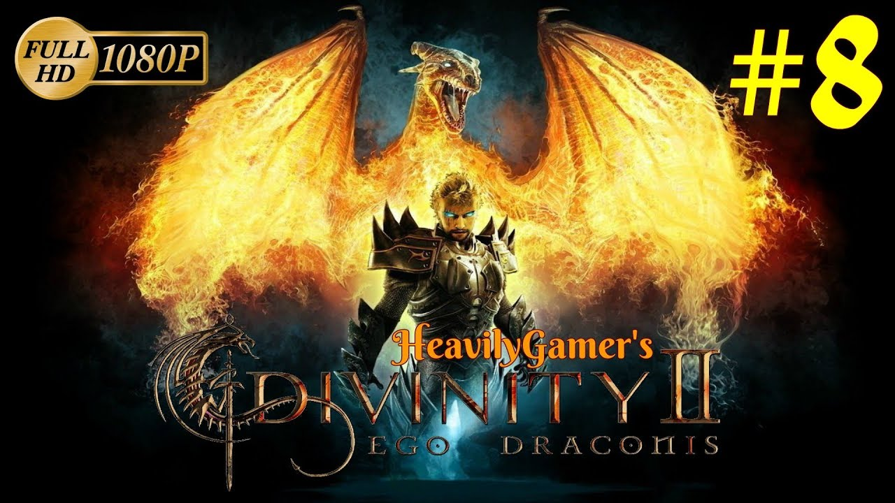 Divinity ii ego draconis xbox 360 (disk, case, art & manual) *used.