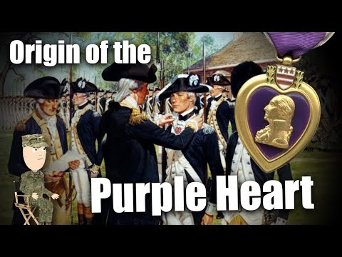 Purple Heart Day! What you don't know about this award!