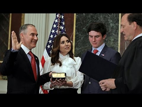 Climate change sceptic to head up US Environmental Protection Agency