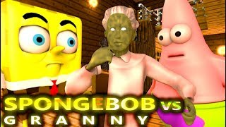 GRANNY VS SPONGEBOB CHALLENGE! Ft. Angry Birds (official) Minecraft Horror Game Animation