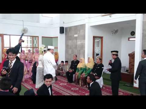 Akad nikah Adit & Rina, Ciamis 15-11-15 episode 2