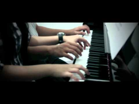 Piano duet from