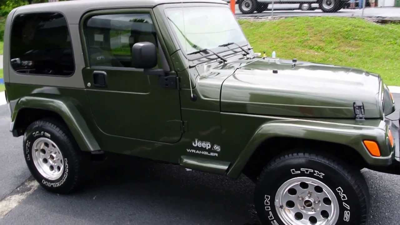 2006 Jeep Wrangler 65th Anniversary Package