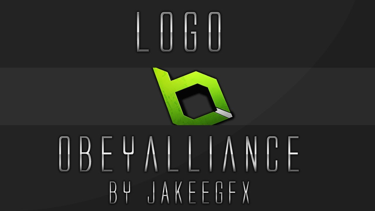Obey Alliance Logo + Template! - YouTube
