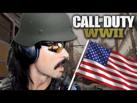 DrDisRespect's First Games of Capture the Flag and Domination on Call of Duty WW2!