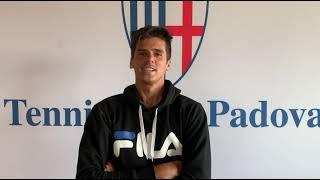 Intervista a Federico Coria al Tennis Club Padova