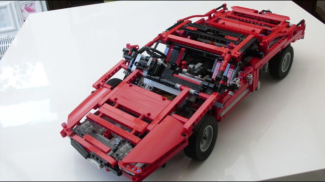 Lego Technic Supercar Youtube
