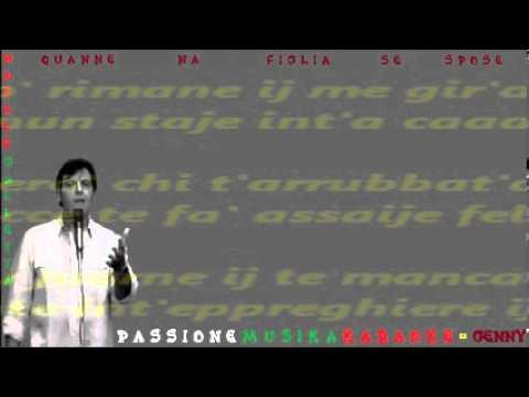 NATALE GALLETTA Quanne na figlia se spose karaoke