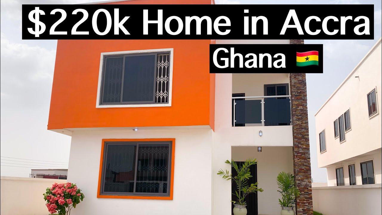 INSIDE A 220K HOUSE IN ACCRA GHANA HOUSE TOUR YouTube