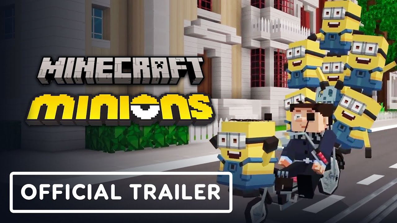 Minecraft x Minions Crossover - Official Trailer - IGN
