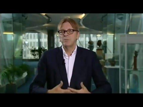 Guy Verhofstadt On The UK